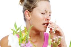 Зуд в носу при аллергии