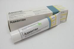 Адвантан при аллергии у ребенка