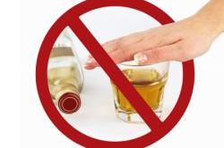 Отказ от алкоголя при крапивнице