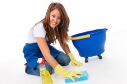 Ежедневная влажная уборка жилого помещения для профилактики аллергии