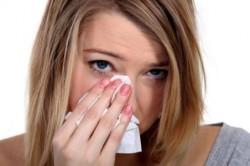 Зуд и жжение глаз при поллинозе