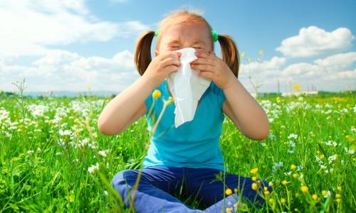 Проблема аллергии у детей весной