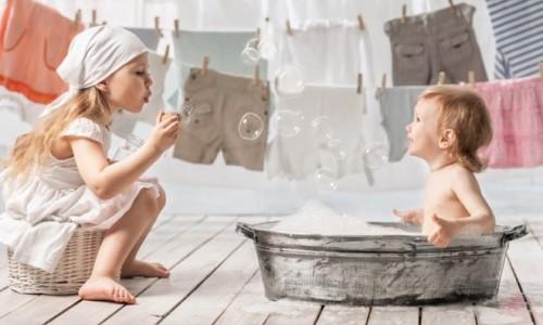 Проблема подбора белья и стиральных средств для кожи детей