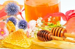 Мед - основной аллерген для детей