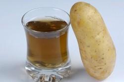 Сок сырого картофеля при аллергии