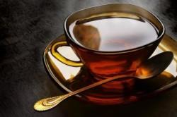 Крепкий чай при отеке Квинке