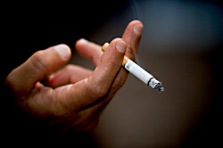 Курение - причина аллергии