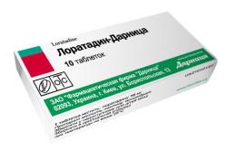 Лоратадин для лечения аллергии