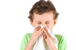 Насморк - симптом пищевой аллергии
