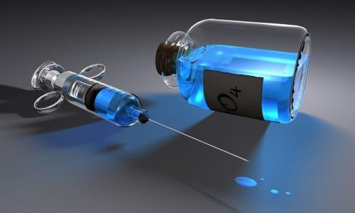 Ампула никотиновой кислоты