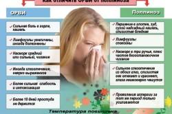 Отличия ОРВИ от полиноза