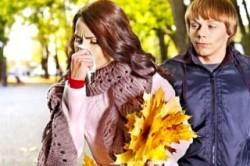Аллергическая реакция в осеннее время года