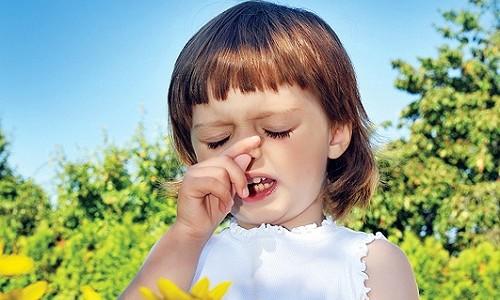 Проблема поллиноза у ребенка