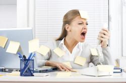 Стресс как причина появления пятен на лице