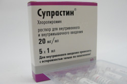 Супрастин для лечения пищевой аллергии