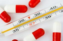 Резкое повышение температуры тела при аллергии