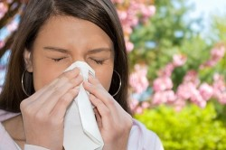 Насморк при аллергической реакции