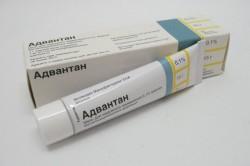 Адвантан для лечения аллергического контактного дерматита