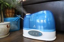 Увлажнитель воздуха для профилактики аллергического ринита