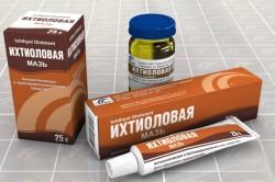 Польза ихтиоловой мази при лечении дерматита