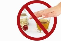 Отказ от спиртного при проявлении аллергии
