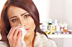 Насморк - симптом весенней аллергии