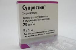 Супрастин для лечения поллиноза