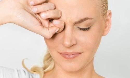 Проблема с глазами при аллергии