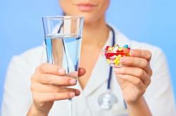 Прием препаратов при крапивнице