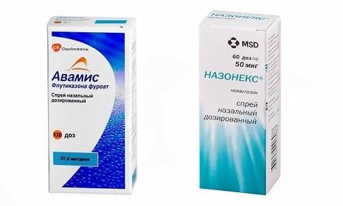 Вернуть хорошее самочувствие при рините поможет гормональный препарат для местного применения Назонекс или Авамис